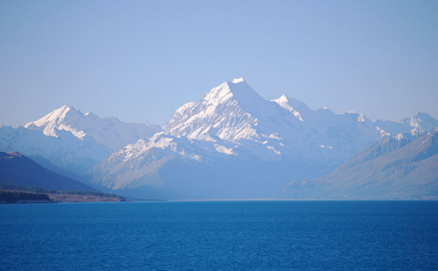 Mt Cook from the road