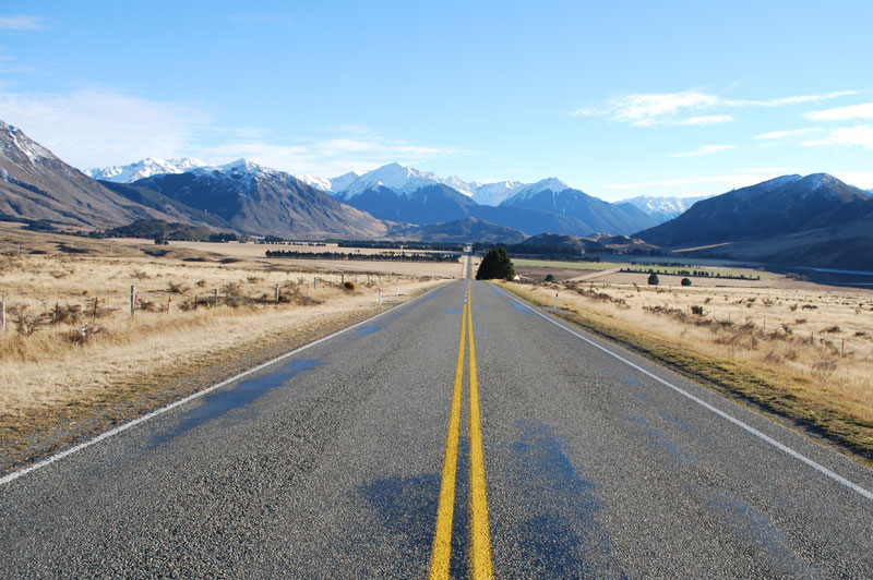 Road to Arthurs Pass