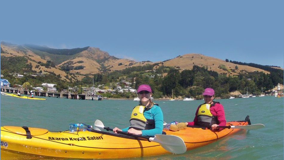 Guided Kayak Tour - Akaroa