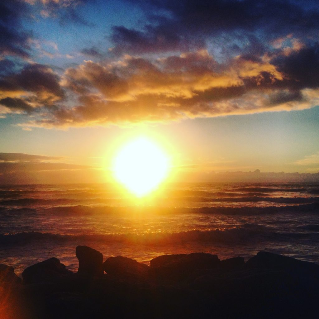 Sunset, Punakaiki